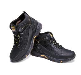 Купить Мужские ботинки на меху Jack Wolfskin черные в Украине