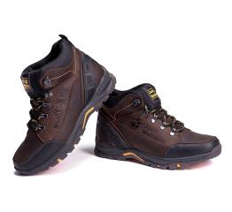 Купить Мужские ботинки на меху Jack Wolfskin темно-коричневые в Украине
