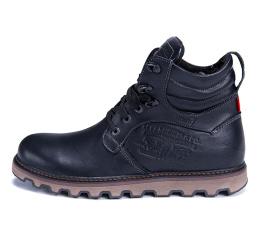Купить Мужские ботинки на меху Levi's черные