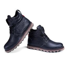 Мужские ботинки на меху Levi's черные