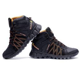 Мужские ботинки на меху Reebok Crossfit Microweb черные