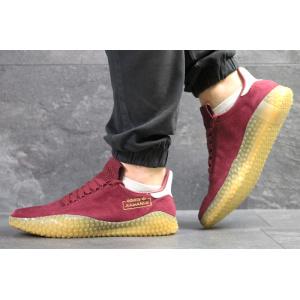 Мужские кроссовки Adidas Kamanda бордовые