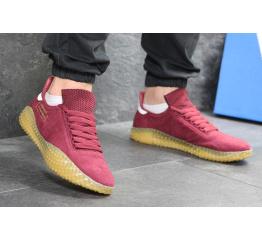 Купить Мужские кроссовки Adidas Kamanda бордовые в Украине