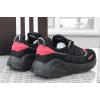 Мужские кроссовки Adidas LXCON черные с красным