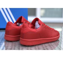 Купить Чоловічі кросівки Adidas Stan Smith червоні в Украине