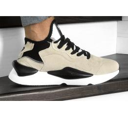 Купить Мужские кроссовки Adidas Y-3 Kaiwa бежевые