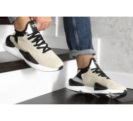 Купить Мужские кроссовки Adidas Y-3 Kaiwa бежевые в Украине