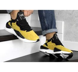 Купить Мужские кроссовки Adidas Y-3 Kaiwa желтые в Украине