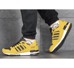Купить Мужские кроссовки Adidas ZX 750 горчичные