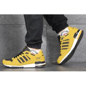 Мужские кроссовки Adidas ZX 750 горчичные