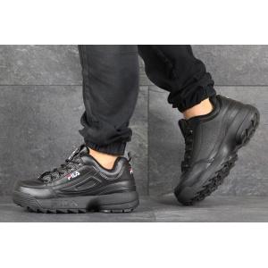 Мужские кроссовки Fila Disruptor 2 черные