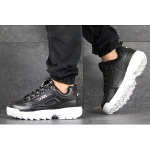 Мужские кроссовки Fila Disruptor 2 черные с белым