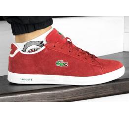 Мужские кроссовки Lacoste Carnaby красные