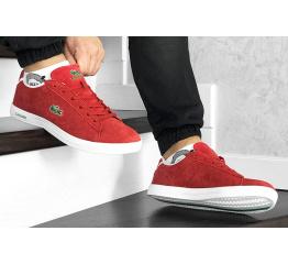 Купить Мужские кроссовки Lacoste Carnaby красные в Украине