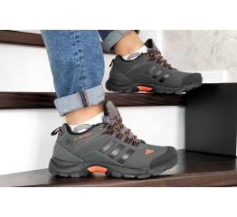 Купить Мужские кроссовки на меху Adidas TERREX ClimaProof серые