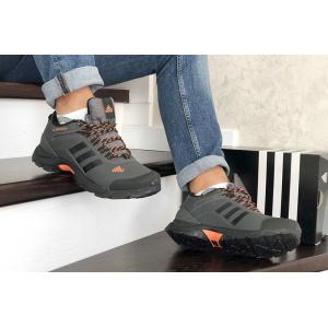 Мужские кроссовки на меху Adidas TERREX ClimaProof серые