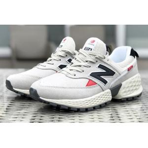 Мужские кроссовки New Balance 574 Sport v2 бежевые