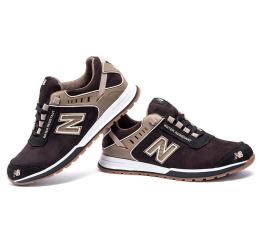 Купить Мужские кроссовки New Balance коричневые в Украине