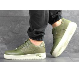 Мужские кроссовки Nike Air Force 1 Low зеленые