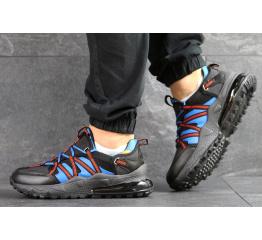 Купить Чоловічі кросівки Nike Air Max 270 Bowfin чорні з блакитним