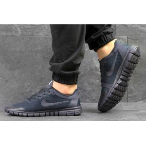 Мужские кроссовки Nike Free Run 3.0 V2 темно-синие