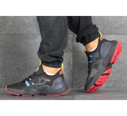 Купить Чоловічі кросівки Nike Huarache E.D.G.E. чорні з блакитним и красным