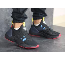 Купить Чоловічі кросівки Nike Huarache E.D.G.E. чорні з блакитним и красным в Украине