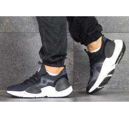 Купить Чоловічі кросівки Nike Huarache E.D.G.E. темно-сині з білим