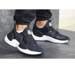 Купить Чоловічі кросівки Nike Huarache E.D.G.E. темно-сині з білим в Украине