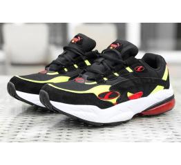 Мужские кроссовки Puma Cell Venom черные с неоновым