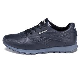 Мужские кроссовки Reebok Classic Leather Lux черные
