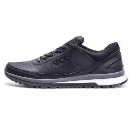Мужские туфли сникеры Ecco черные