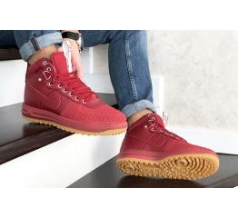 Купить Мужские высокие кроссовки Nike Lunar Force 1 Duckboot красные в Украине