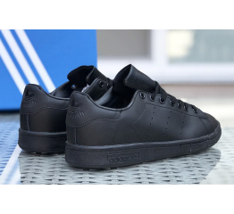 Купить Женские кроссовки Adidas Stan Smith черные в Украине