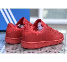 Купить Женские кроссовки Adidas Stan Smith красные в Украине