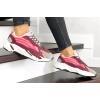 Женские кроссовки Adidas Yeezy Boost 700 V2 Static бордовые с розовым