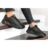 Женские кроссовки Adidas Yeezy Boost 700 V2 Static черные с оранжевым