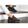 Женские кроссовки на меху Adidas Sharks Fur черные