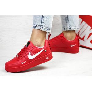 Женские кроссовки Nike Air Force 1 '07 Lv8 Utility красные