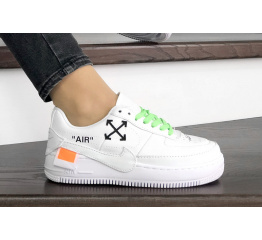 Женские кроссовки Nike Air Force 1 Jester XX x Off-White белые