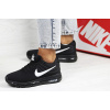 Женские кроссовки Nike Air Max 2017 черные с белым