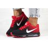 Женские кроссовки Nike Air Max 2017 красные с черным