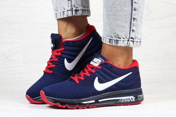 Женские кроссовки Nike Air Max 2017 темно-синие