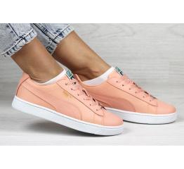 Купить Женские кроссовки Puma Suede пудровые