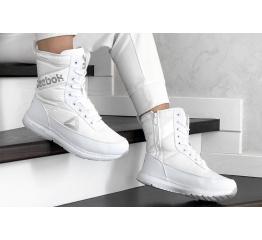 Купить Жіночі чоботи зимові Reebok білі