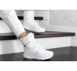Купить Жіночі чоботи зимові Reebok білі в Украине
