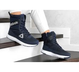 Купить Жіночі чоботи зимові Reebok темно-сині