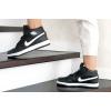 Женские высокие кроссовки на меху Nike Air Jordan 1 Retro High OG черные с белым