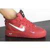 Женские высокие кроссовки Nike Air Force 1 '07 Mid Lv8 Utility красные
