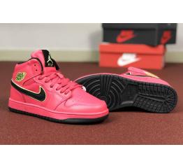 Купить Женские высокие кроссовки Nike Air Jordan 1 Retro High OG red